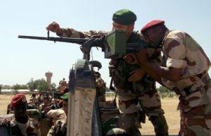 Instruction opérationnelle au profit des élèves officiers tchadiens