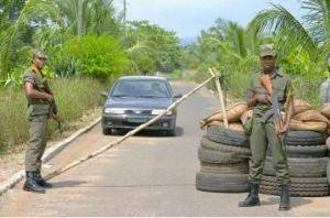 Les forces françaises au Gabon,effectif et missions