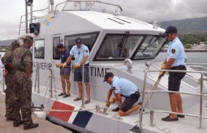 FAZSOI : Formation au profit de l'unité de garde-côte comorienne