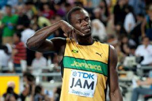 People : le sprinteur Usain Bolt participera  au match caritatif au profit de l'Unicef