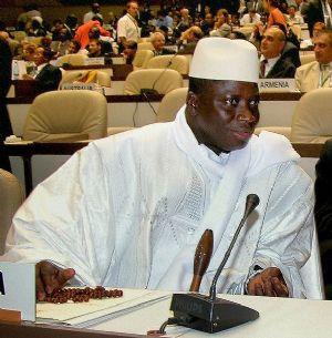Le président gambien en route vers une visite de quatre jours en Arabie saoudite