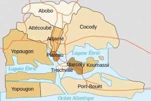 Violents affrontements entre forces de l'ordre et commerçants à Abidjan