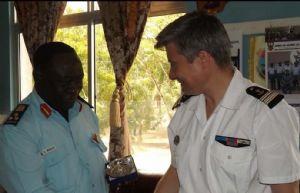 Atalante : Coopération avec la Marine tanzanienne