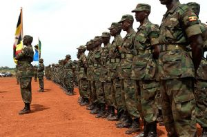 L'Ouganda déploie plus de 1,600 casques bleus en Somalie