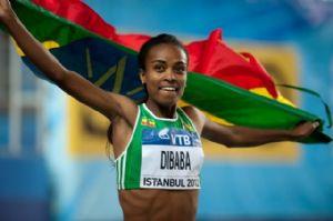 La sportive de l'année 2014, c'est l'Ethiopienne Genzebe Dibaba