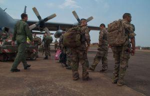 Livraison de fret à Bangui