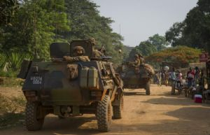 Sangaris : La force conduit une reconnaissance à Gamboula