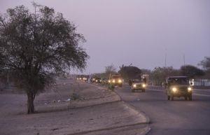 Tchad : Déploiement du groupement terre au profit de l'opération Sangaris