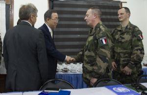 Centrafrique : Rencontre avec Ban Ki Moon