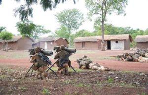 Sangaris : attaque par un groupe lourdement armé au Nord-Ouest du pays