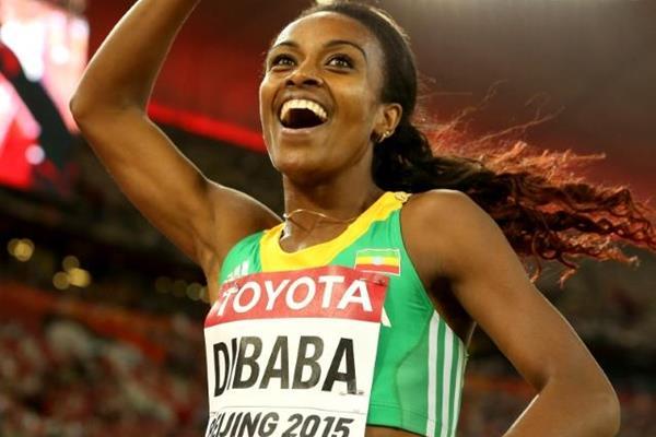 Athlétisme: Genzebe Dibaba bat un nouveau record datant de 1998