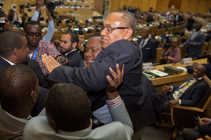 L'élection à la Présidence de Ahmad Ahmad à la CAF : « A l'image de l'émergence de Madagascar au plan sportif »