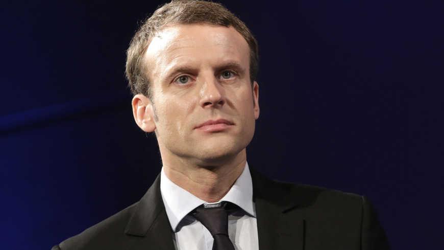 Politique/1ers mots de Macron à la France après sa victoire au 1er tour