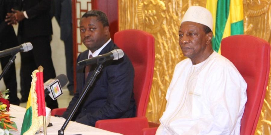 Faure G. et A. Condé : deux Présidents en exercice de la CEDEAO et de l'UA très contestés en interne