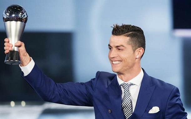 FIFA : Cristiano Ronaldo élu meilleur joueur de l'année 2017