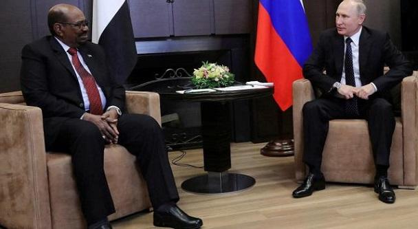 Soudan: En visite d'Etat en Russie, Omar El-Béchir a demandé la protection et le rééquipement de son armée