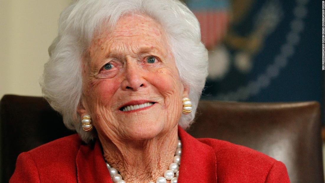 Un dernier hommage rendu à l'ancienne Première dame Barbara Bush