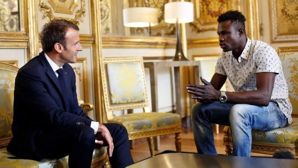 France: Mamadou Gassama, le «Spiderman africain» officiellement naturalisé