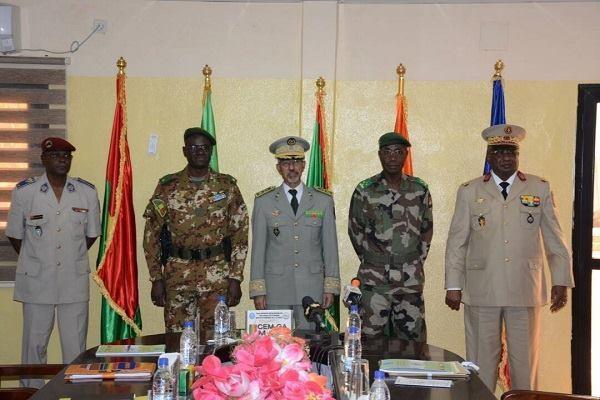Transfert du PC du G5 Sahelà Bamako : Les chefs d'état-major des pays membres en conclave à Niamey
