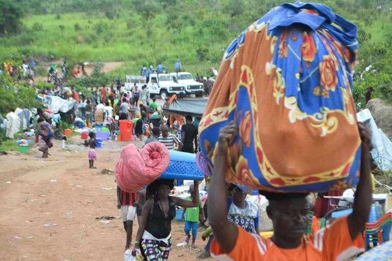 Des Congolais expulsés d'Angola meurent de la tuberculose