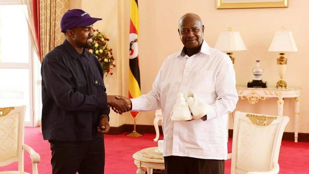 Kanye West chez Museveni: quand deux «fans» de Donald Trump se rencontrent!