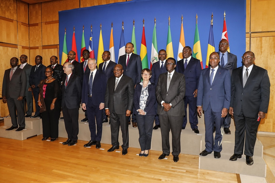 Economie: les ministres des Finances de la Zone Franc étaient ce lundi à Paris