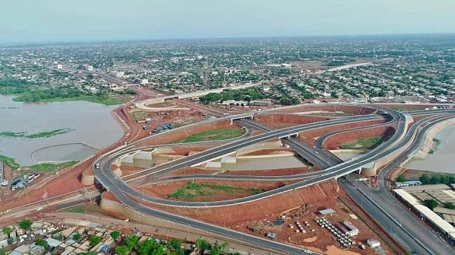 Infrastructures: le plus grand échangeur d'Afrique de l'Ouest francophone inauguré jeudi à Ouagadougou