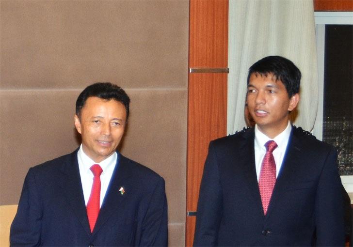 Madagascar/Présidentielle: Rajoelina et Ravalomanana au second tour le 19 décembre prochain