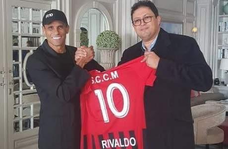 Football : l'ancienne star du Brésil, Rivaldo débarque dans le championnat marocain