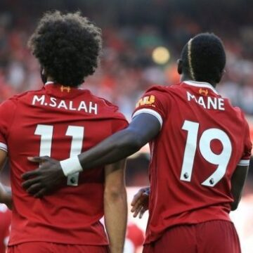 Sadio Mané et Mohamed Salah dans le top 5 des footballeurs les plus chers de la planète