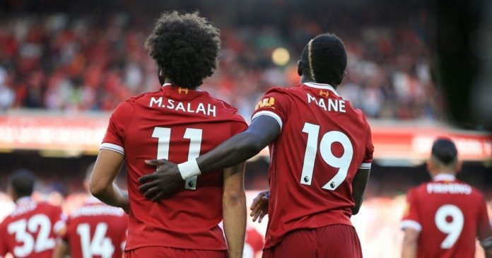 Mohamed Salah et Sadio Mané (DR)
