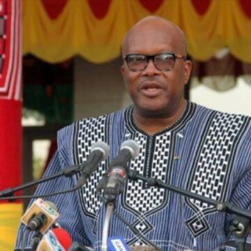 Kabore crie haro pour un retour de la trêve sociale