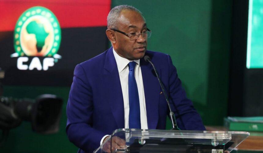 Ahmad Ahmad, Président de la CAF (DR) solidaire face au coronavirus