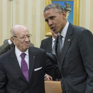 Essebsi, premier Président de la Tunisie démocratique