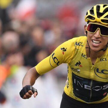 Egan Bernal, premier colombien et plus jeune coureur depuis 110 ans a remporté le Tour de France