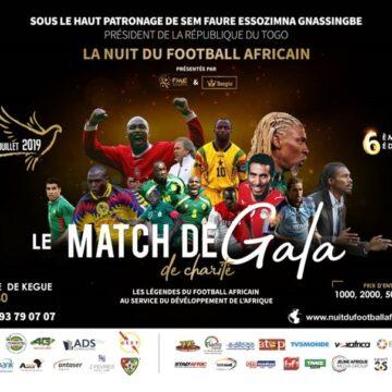 Edition 6 Nuit du football Africain : une flopée de stars attendues ce samedi à Lomé