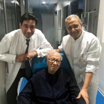 Tunisie: Le chef de l'Etat Essebsi est sorti de l'hôpital