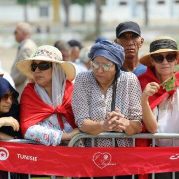 Tunisie: Les femmes étaient au premier rang pour dire adieu au président Essebsi