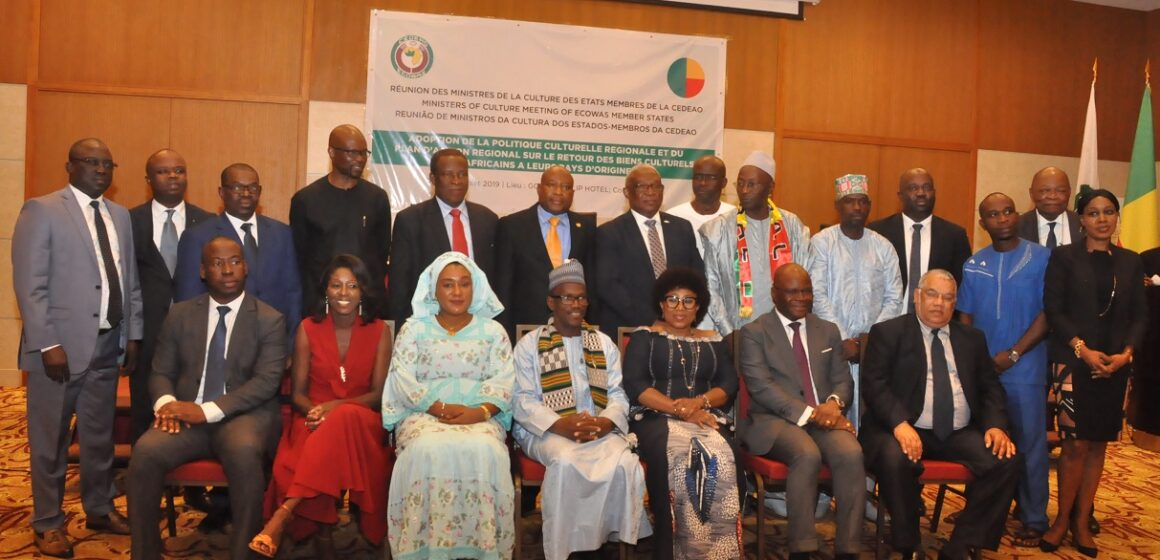 Restitution des biens culturels africains à leurs pays d'origine: La CEDEAO dotée désormais d'un outil juridique idoine