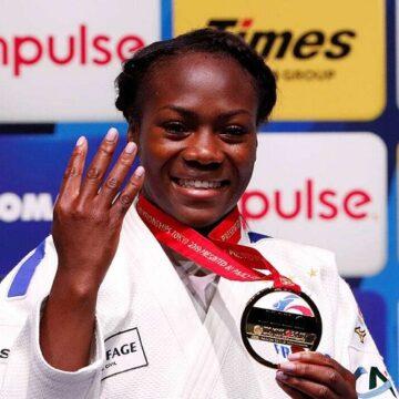 Mondiaux de Judo : et de 4 pour Clarisse Agbegnenou qui devient la Française la plus titrée de l'histoire