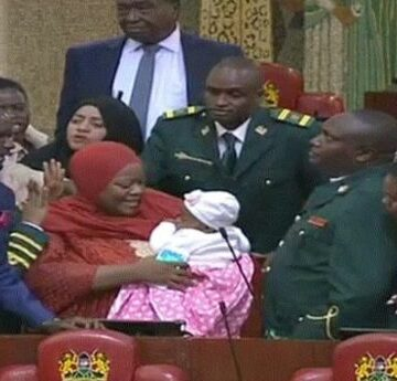 Kenya : Une députée expulsée du Parlement pour y avoir amené son bébé