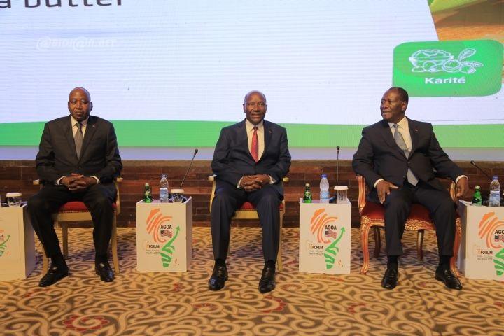 Forum AGOA 2019 : Abidjan ambitionne de rehausser ses exportations vers les USA à hauteur de 2059 milliards d'ici 2025.