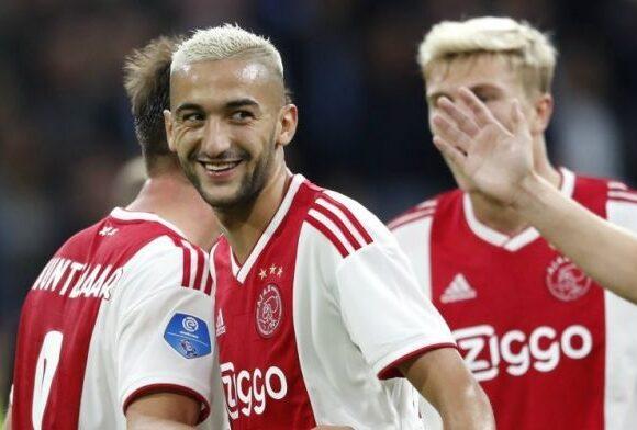 Transfert : le Marocain Hakim Ziyech chez les Blues de Chelsea dès cet été
