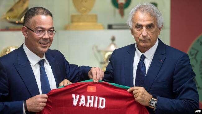 Maroc : officialisé à son poste, Vahid Halilhodzic affiche ses ambitions