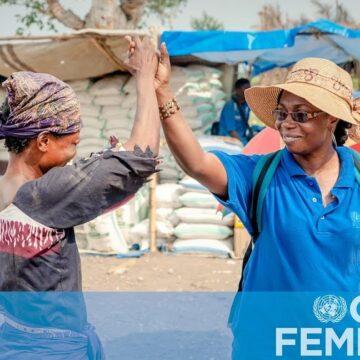 Journée Mondiale de l'aide humanitaire : les femmes humanitaires portées en triomphe par l'ONU