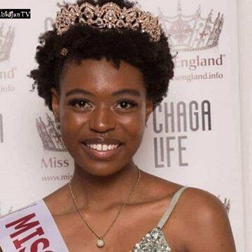 Une Zimbabwéenne devient la première femme noire à être couronnée Miss Londres