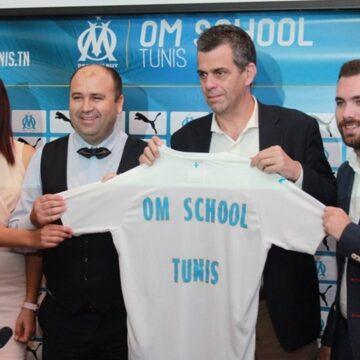 Football : l'OM School Tunis, première école à l'étranger du club marseillais ouvre en septembre