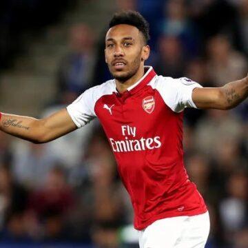 Pierre Emerick Aubameyang à Arsenal : Le Gabonais fait mieux que Thierry Henry et Ian Wright