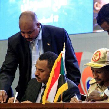 Le Soudan célèbre l'accord historique, la désignation du Conseil souverain retardée