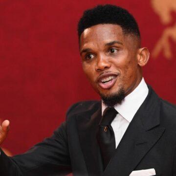 Carrière : Samuel Eto'o se considère comme le « meilleur joueur africain de l'histoire » et se prépare à devenir entraîneur